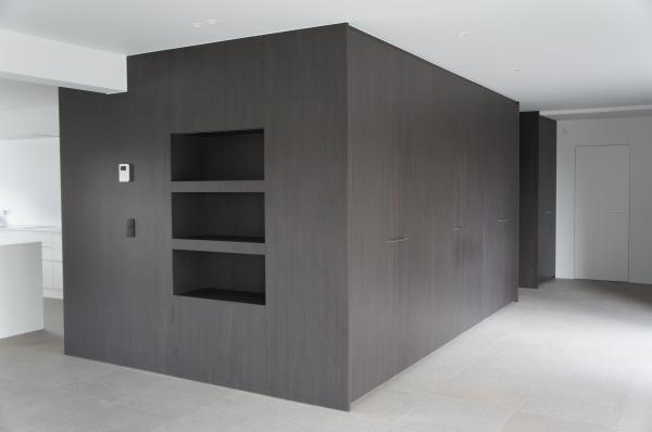 Keuken Kastenwand Met Nis : Marivoet BVBA – Project in detail