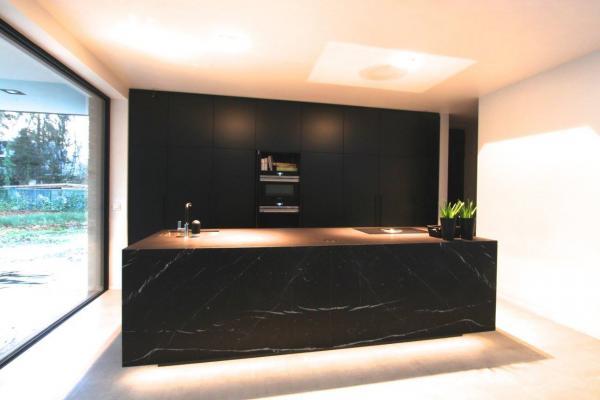 Marmer Zwart Keuken : Marmer keuken elegant keuken zwarte marmer keuken ideeën